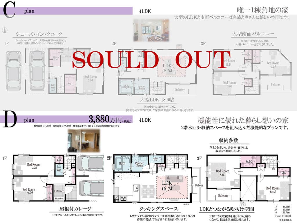 ナゴヤドーム矢田駅南の家-3